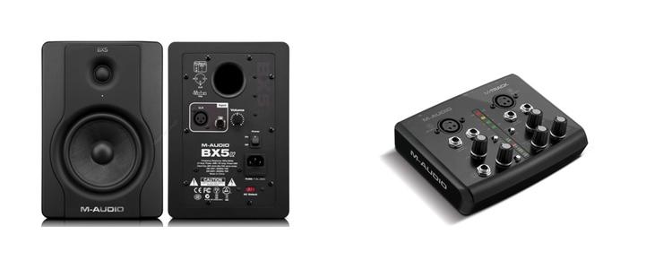 M-Audio STUDIOPHILE BX5 D2 | M-Audio M-Track